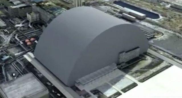 На Чорнобильській АЕС встановлюють новий саркофаг. Що відбувається - фото 1