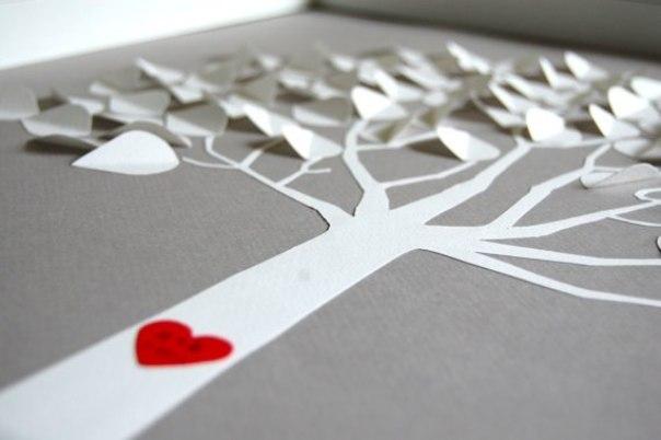 Как сделать дерево своими руками на бумаге