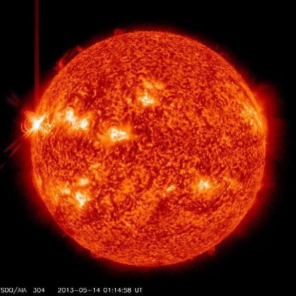 Когда вспышки на солнце в 2015 году