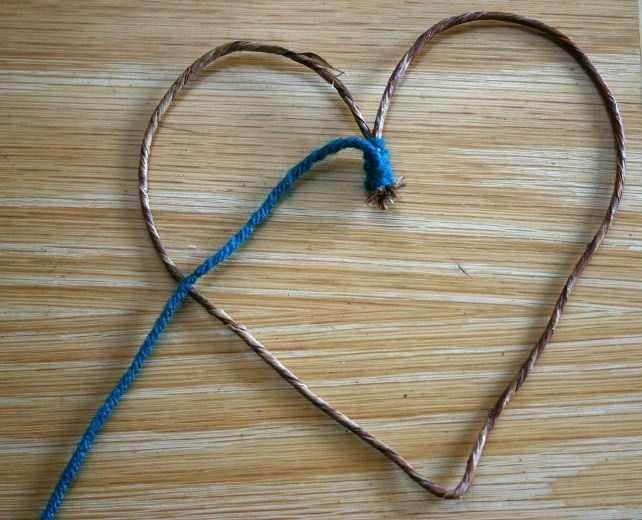 Как сделать сердце своими руками из проволоки
