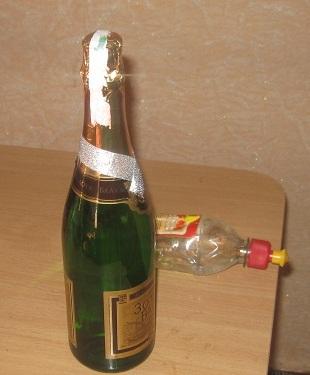 2c48a6f2dd1876ad918b761604fa7848 Как украсить бутылки шампанского в подарок своими руками