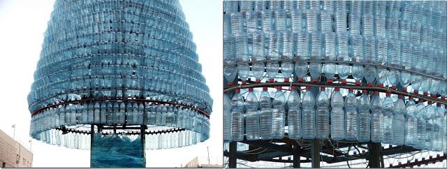 Как сделать елку из пластиковых бутылок своими
