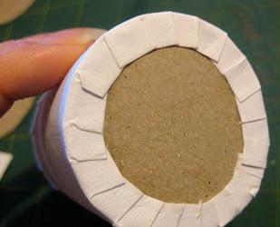 Как сделать конус из картона с дном