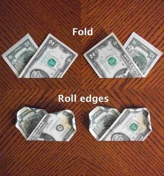 подарок деньгами оригинально фото