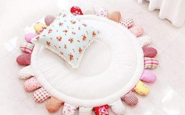 Развивающий Круглый коврик для ребенка своими руками