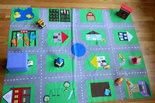 Развивающий коврик своими руками для детей от 0 до 3 лет фото 75