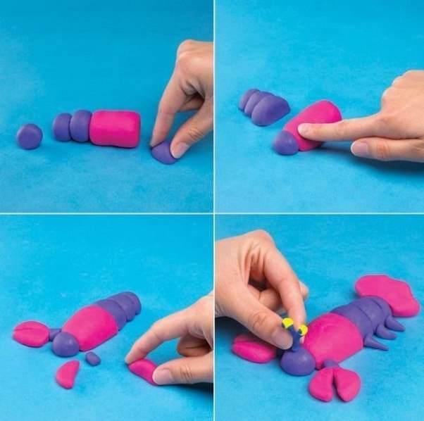 Как сделать из пластилина ребенка