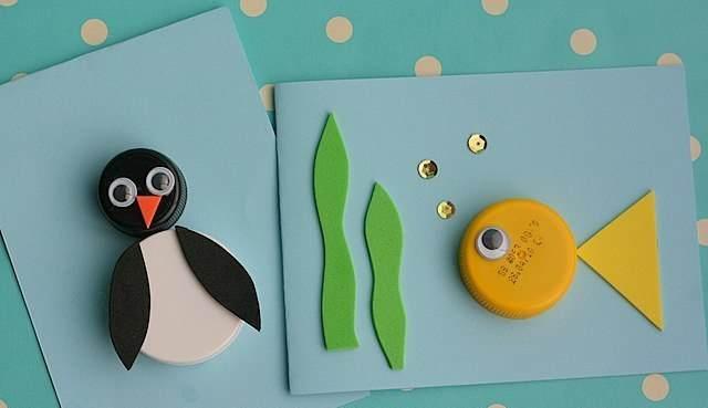 Поделки из природных материалов в детский сад