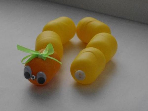 Ягодки из киндер яиц
