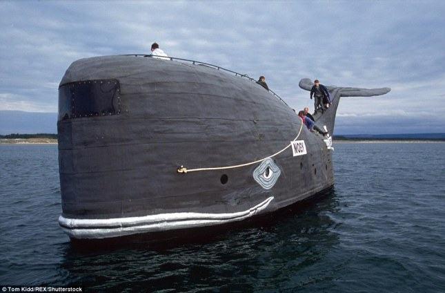 Самые странные в мире морские суда