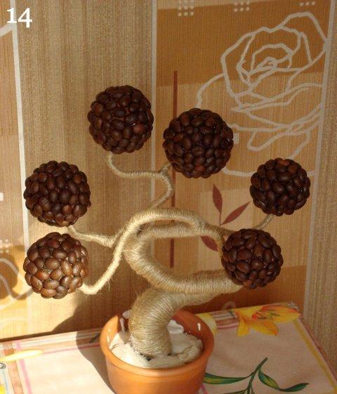 Кофейное дерево своими руками мастер класс пошагово видео
