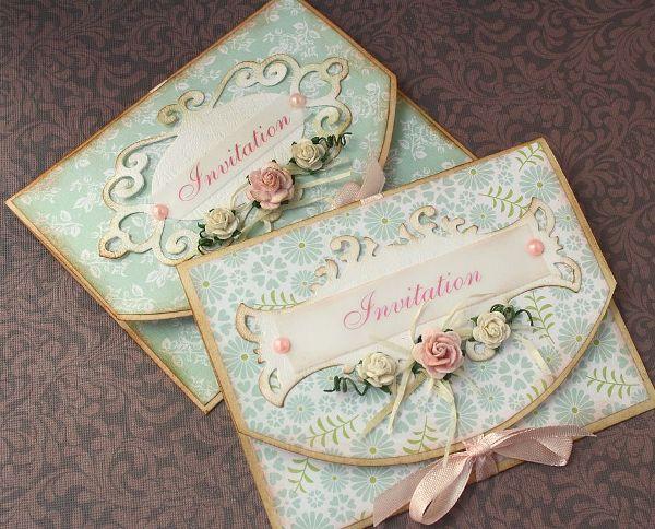 Как сделать приглашение свадьбу