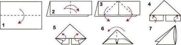 Как делать треугольный модуль для оригами