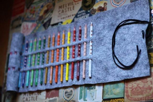Сделать своими руками пенал для карандашей