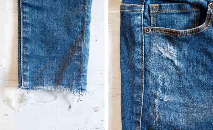Как из джинсов сделать потертые джинсы - Mi-k.ru