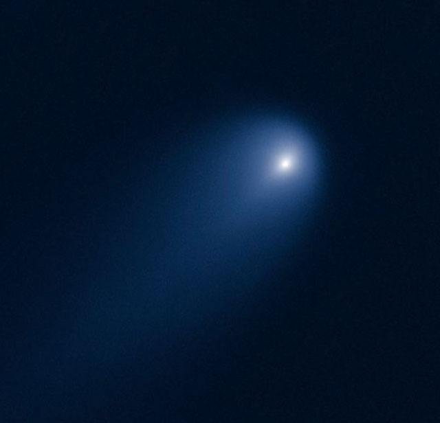 Получены новые уникальные снимки кометы ISON