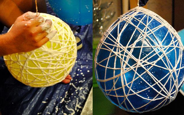 Как сделать своими руками большой шар из бумаги