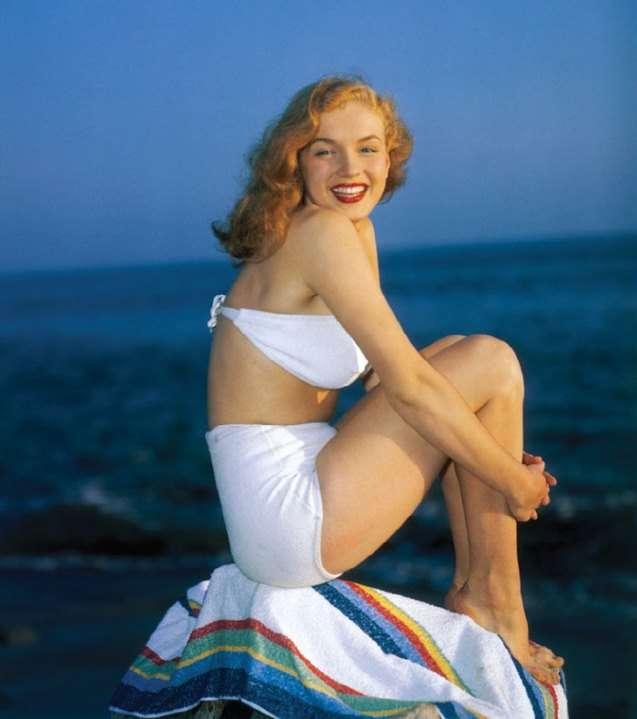 Редкие фотографии Мэрилин Монро показывают её жизнь до популярности