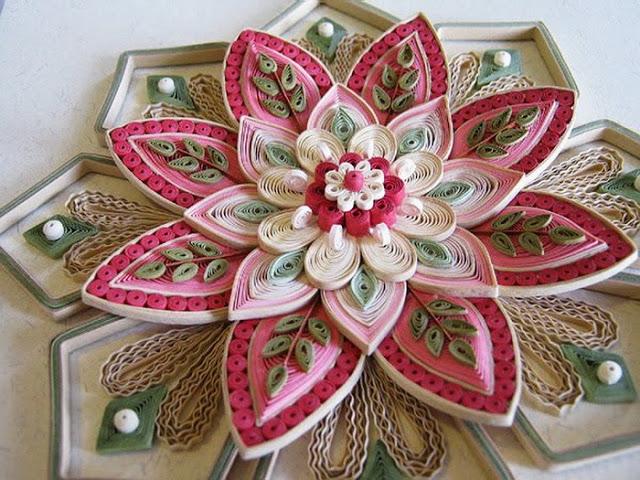 Цветы в технике квиллинг