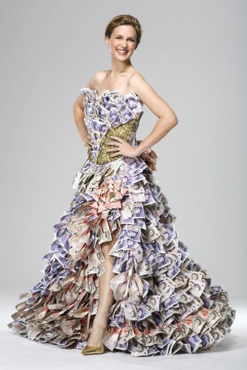 Оригинальные вечерние платья своими руками