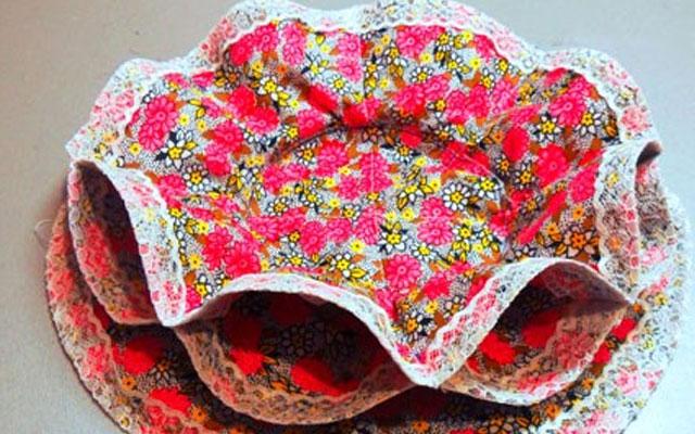 Пасхальные поделки своими руками салфетка для праздничного стола - Поделки