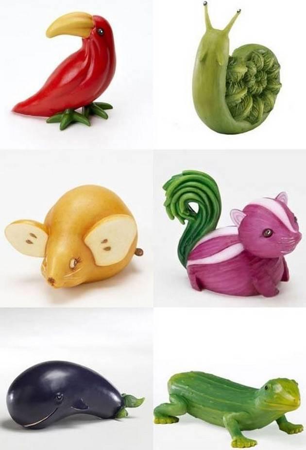 Фигура из овощей как сделать