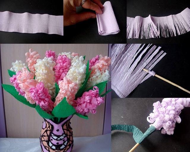 Изготовление цветов своими руками фото