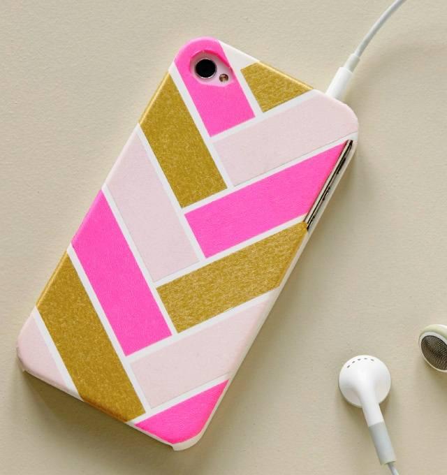Как раскрасит чехол для телефона своими руками 134