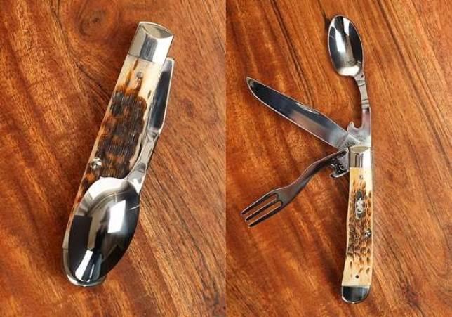 Как сделать из ложки ножи