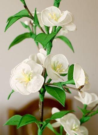 Как сделать цветы из