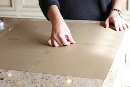 Как сделать елку из картона конус своими