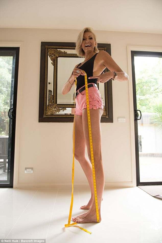 Появилась новая претендентка на звание самых длинных ног в мире
