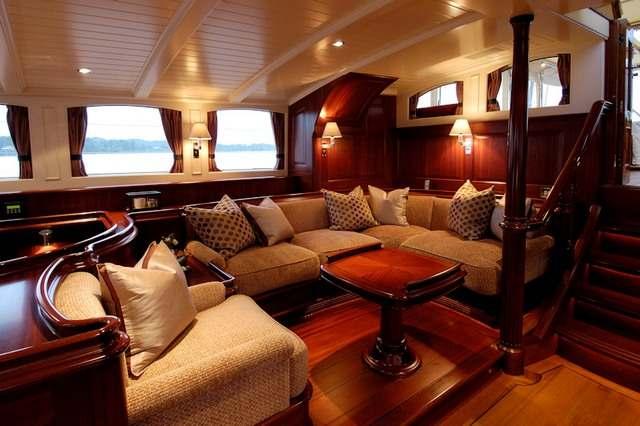 Фото яхт интерьер