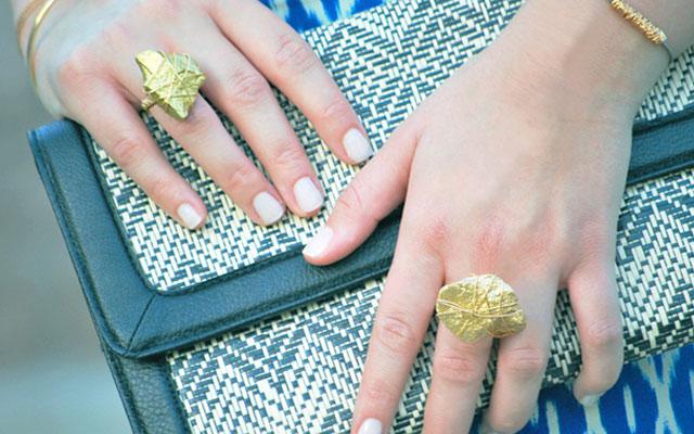 Кольца своими руками из камушек