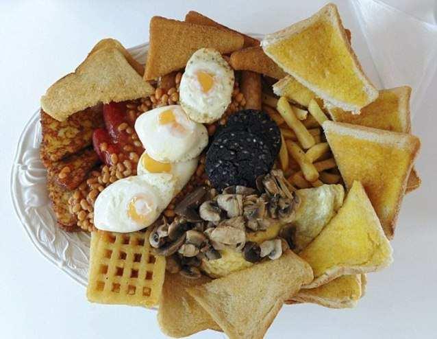 завтрак высоком холестерине