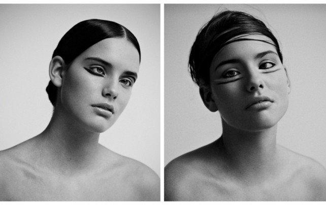 Девушка стала моделью, несмотря на странную внешность