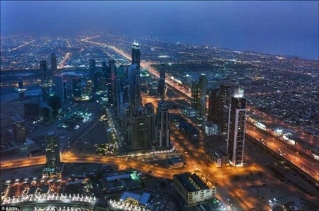 самые высокие здания дубая фото
