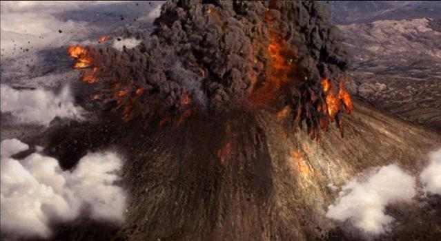 где последний раз извергались вулканы