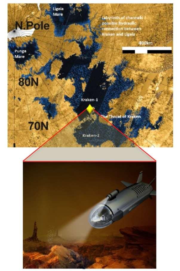 Подлодки и беспилотники смогут исследовать Титан