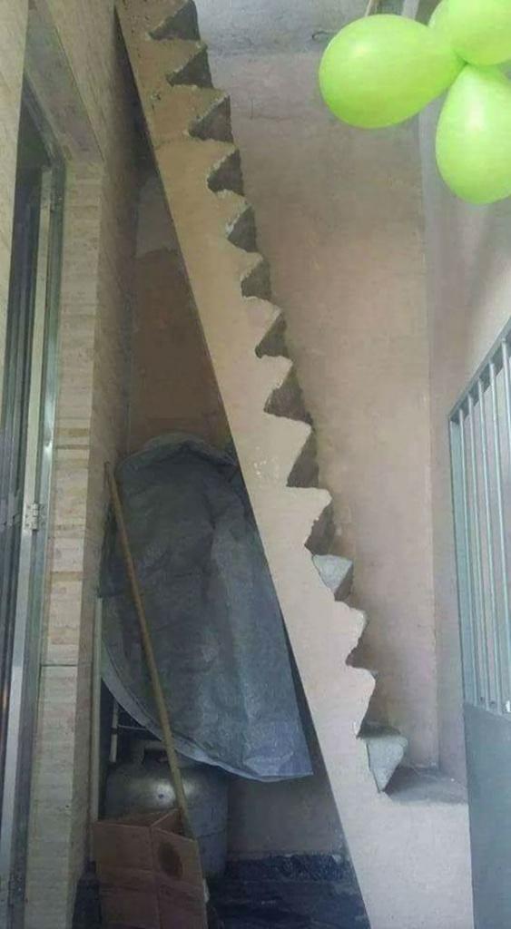 Когда архитектор или дизайнер хочет вас покалечить