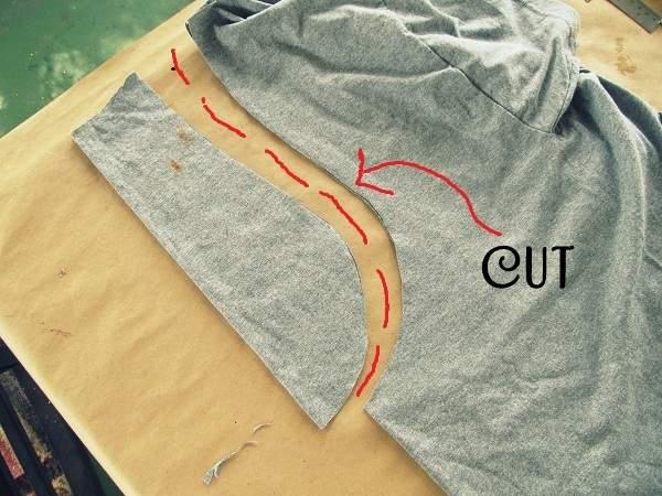 25 идей Как из футболки сделать модную футболку