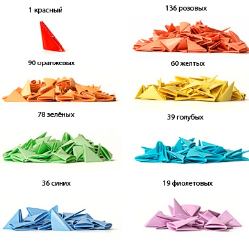 Цветовая схема лебедя из