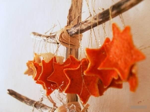 Мандарины для декора