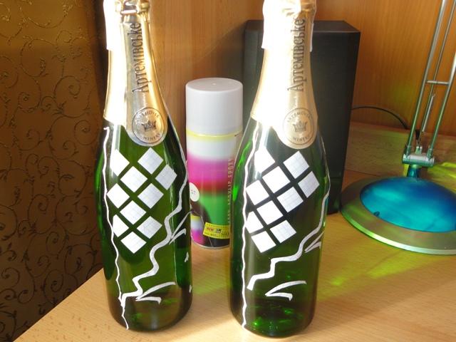 Инструкция как оформить бутылки своими руками