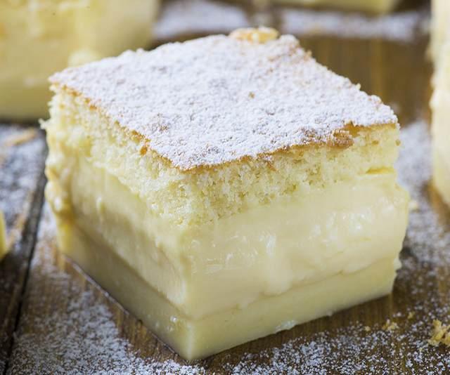 Это умное трехслойное пирожное готовится очень просто