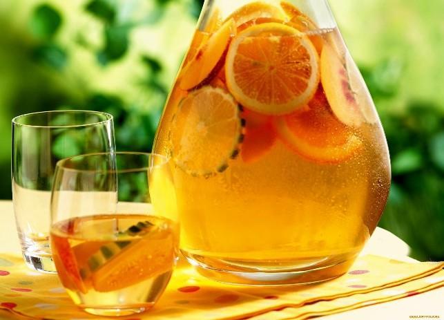 Как сделать напиток из апельсинов в домашних условиях 746