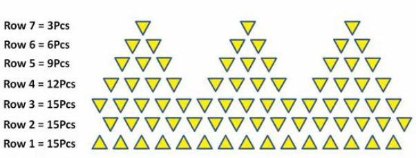 Модульное оригами тюльпан схема сборки.