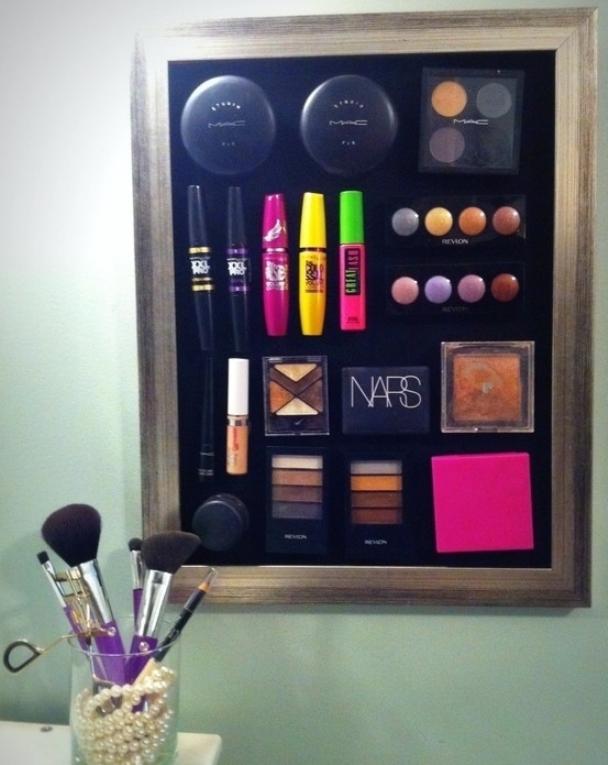 15 стильных способов хранить свою косметику (ФОТО) 4girls 15 стильных способов хранить свою косметику (ФОТО) : Красота, How to