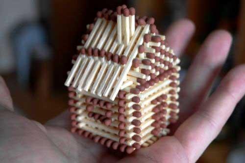 Чтобы изготовить такой домик