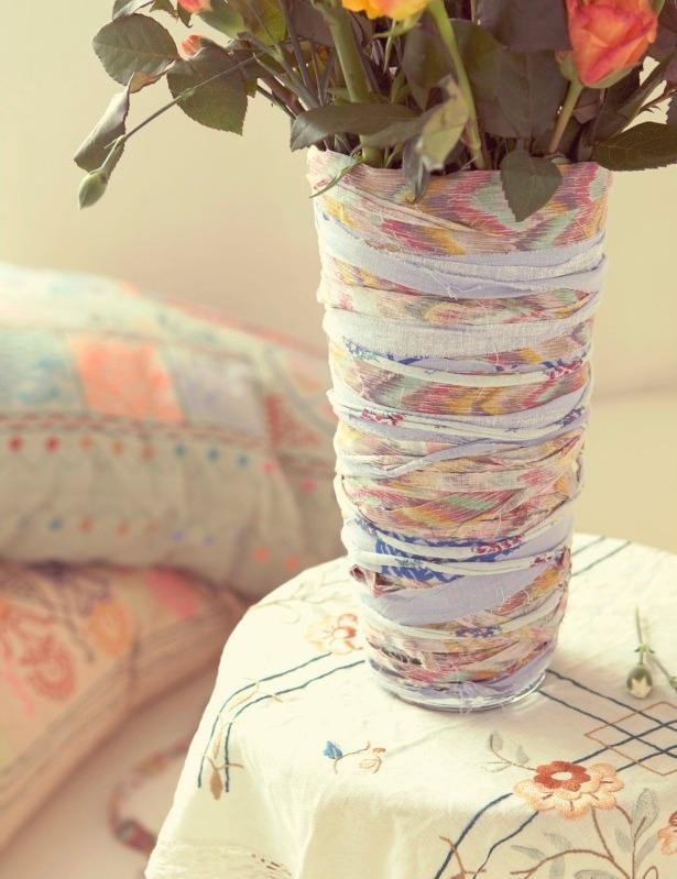 Сделать вазу декоративную своими руками